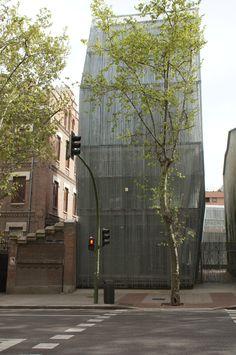 Edificio Urbano. Paseo del General Martínez Campos, 14. Vista desde la calle. Abril 2015. Fotografía de David Bornscheuer.
