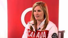 Jennifer Jones stops by Studio Q with Jian Ghomeshi Curling Canada, Olympic Curling, Women's Curling, Studio Q, Jennifer Jones, Olympic Team, Olympics, Pop Culture, Curls