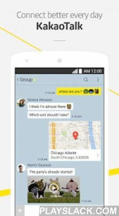 KakaoTalk: Free Calls & Text  Android App - playslack.com ,  KakaoTalk is a fast & multifaceted messaging app. Send messages, photos, videos, voice notes and your location for free. Make chatting extra fun with an array of emoticons and sticker collections. More about KakaoTalk: ★ Chosen by more than 150 million users worldwide ★ Fast, fun, easy way to communicate with friends and family ★ Uses Internet connection (3G/EDGE or Wi-Fi) for calls and messaging ★ Supports: Android, iOS…