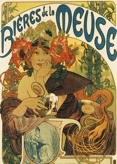Alphonse Mucha - Bieres de la Muse - Alphonse Mucha - Wikipedia, the free encyclopedia
