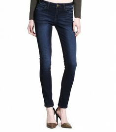 @Who What Wear - The Body: Curvy   The Jeans: DL 1961 Florence Warner Instasculpt Jeans ($178)  The Slimming Trick: The four-way stretch fabric formula instantly microsculpts your legs, butt, and mid-section.