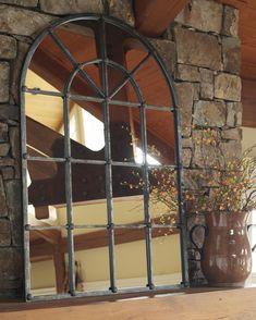Signature Design by Ashley Furniture Bronze Oengus Accent Mirror Tuscan Design, Tuscan Style, Metal Mirror, Floor Mirror, Decor Interior Design, Interior Decorating, Decorating Ideas, Argent Antique, Antique Silver