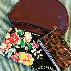 Wallets, small purse. Colorful  Rue 22 with tag, Aigner purse and New Credit Card Holder  or Key holder NEW,  makes a nice small  gift or for re-sale... Accessories