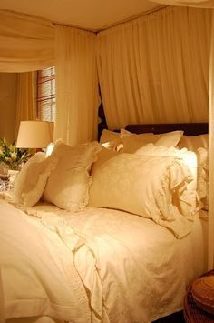 Ralph Lauren cocoon bedroom for you and your beloved.