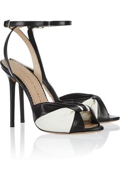 Charlotte Olympia|Do The Twist leather sandals