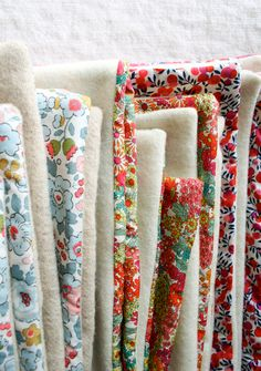 Molly's Sketchbook: Liberty and Wool LapDuvets