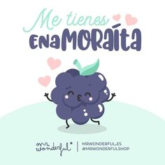 Te comería a besos. I am head over heels in love with you. I would like to smother you with kisses. Cute Quotes, Words Quotes, Cute Love, Love You, Ex Amor, Love Phrases, Kawaii Drawings, Spanish Quotes, Cute Illustration