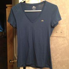 Izod tshirt Cute izod Lacoste tshirt in dark blue IZOD Tops