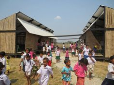 MOVING schools - Archkids. Arquitectura para niños. Architecture for kids. Architecture for children.