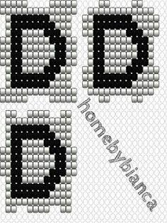 Home by Bianca: Skabeloner til hama bogstavklodser Pearler Bead Patterns, Pearler Beads, Beading Patterns, Symbols, Diy Crafts, Blog, Bracelets, Hama Beads, Jewelery