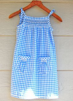smocked sundress