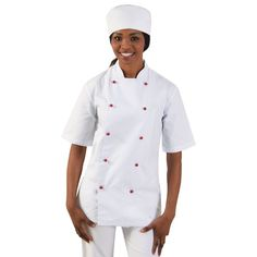 Show details for Stanley Chef Jacket - Short Sleeve Chef Jackets, Sleeves, How To Wear, Collection, Fashion, Moda, Fashion Styles, Fashion Illustrations