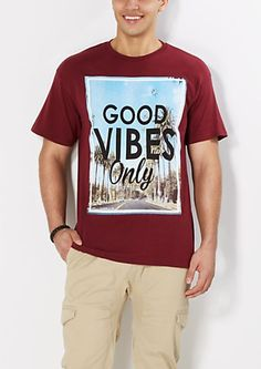 Good Vibes Only Tee | rue21