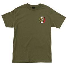 Santa Cruz Skateboards: Tees & Tops: Traditional S/S T Shirt