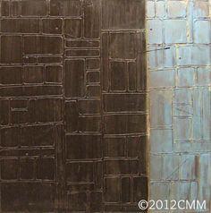 INVEIGLE  Original Painting Acrylic Spray by CMMorrisArtGallery, $250.00