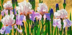 Cuadros de Flores Grandes: Brian Davis, (EEUU) | Bodegones y Paisajes Cuadros al Óleo