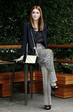 Miriam Leone in Emanuel Ungaro and Pollini shoes. Styled by valeriajmarchetti.com