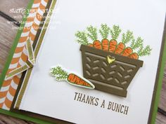 March 2017 Basket Bunch Card Class…#stampyourartout - Stampin' Up!® - Stamp Your Art Out! www.stampyourartout.com