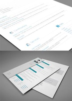 Ultimate Collection of Free Adobe InDesign Templates - CV Resume templates