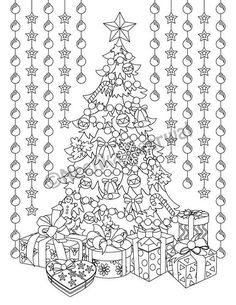 Johannas Christmas A Festive Coloring Book