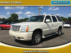 Used 2004 Cadillac Escalade AWD for Sale in Spring Lake Park MN 55432 Perfect 10…