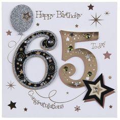 best Ideas funny happy birthday quotes for men party ideas 65th Birthday Party Ideas, 65th Birthday Cards, Birthday Wishes For Men, Happy Birthday Today, 75th Birthday, Birthday Numbers, Happy Birthday Quotes, Birthday Diy, Birthday Images