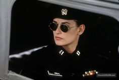 Jane - Publicity still of Demi Moore Demi Moore, Gi Jane, Military Inspired Fashion, Military Fashion, Female Actresses, Actors & Actresses, Military Mom, Military Soldier, Aubrey Plaza