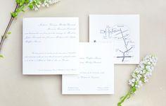 Faire-part de mariage classique Classic wedding invite #fairepart #mariage #classique #tradition