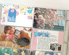 Laura O'Donnell totally makes me want to work on a Project Life album just to use my stamps. She used the April Showers stamp set (http://www.techniquetuesday.com/New-For-2012/April.html) to make the journaling cards for her Project Life page here.