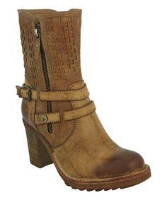 Love this Brown Gail Boot by Eddie Marc & Co. on #zulily! #zulilyfinds
