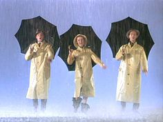 SINGIN' IN THE RAIN. Stanley Donen, 1952. #celebrities #paraguas #umbrella #cine #film