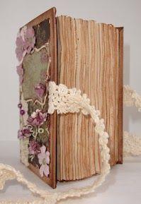 (vintage lace) journal