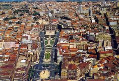 Porto - Avenida dos Aliados, Portugal