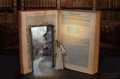 Why do I love to read so much? Because books are a magical portal to another…