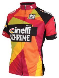 63b95adbb Chrome Italo Race Jersey - Med - Cinelli Chrome