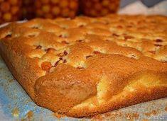Ciasto ucierane z owocami - najprostsze Apple Cake, Banana Bread, Food, Polish, Cakes, Drink, Google, Vitreous Enamel, Beverage