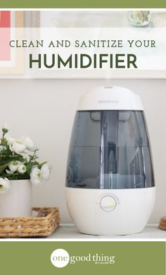 Humidifiers help to combat dry #winter air, but it's important to keep them #clean and sanitized. Learn how to keep your #humidifier running in tip-top shape!