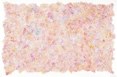 """Saatchi Online Artist: Julian Brangold; Watercolor, 2010, Painting """"Reality Told as a Series of Disorganized Events 1"""""""