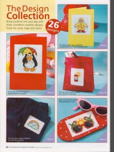 Weather Wonders Design Collection 1/2 The World of Cross Stitching Issue 83 April 2004 Saved