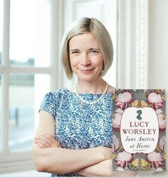 Lucy Worsley at Home.