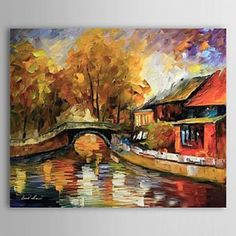 Hand Painted Oil Painting Landscape 1304-LS0273 - WallArtBox