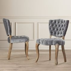 Yates Tufted Side Chair (Set of 2)