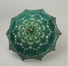 Green umbrella @Emily Southerland Isn't this one so pretty?  I think you would love this one, too! :)