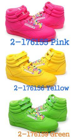 9b4a4f99231afe reebok classic high tops neon