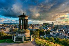 View from Calton Hill, Edinburgh. #thisisedinburgh