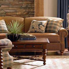 Custom Classics Sofa - Bassett - Chenille  Tapestry