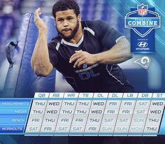 Want to know the NFL Scouting Combine schedule? We've got you covered. 2/23/2016