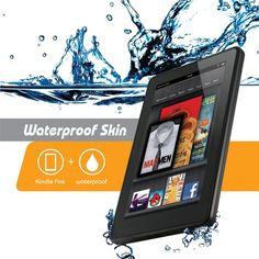 Your Kindle Fire can now be waterproof, snow proof, dirt proof, and dust proof, all while keeping its attractive figure. The iOttie Waterproof Skin for...