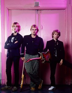 The Police. Amsterdam, June 1979. Photo by Gijsbert Hanekroot.