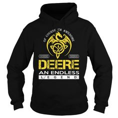 DEERE AN ENDLESS LEGEND (DRAGON) - LAST NAME, SURNAME T-SHIRT